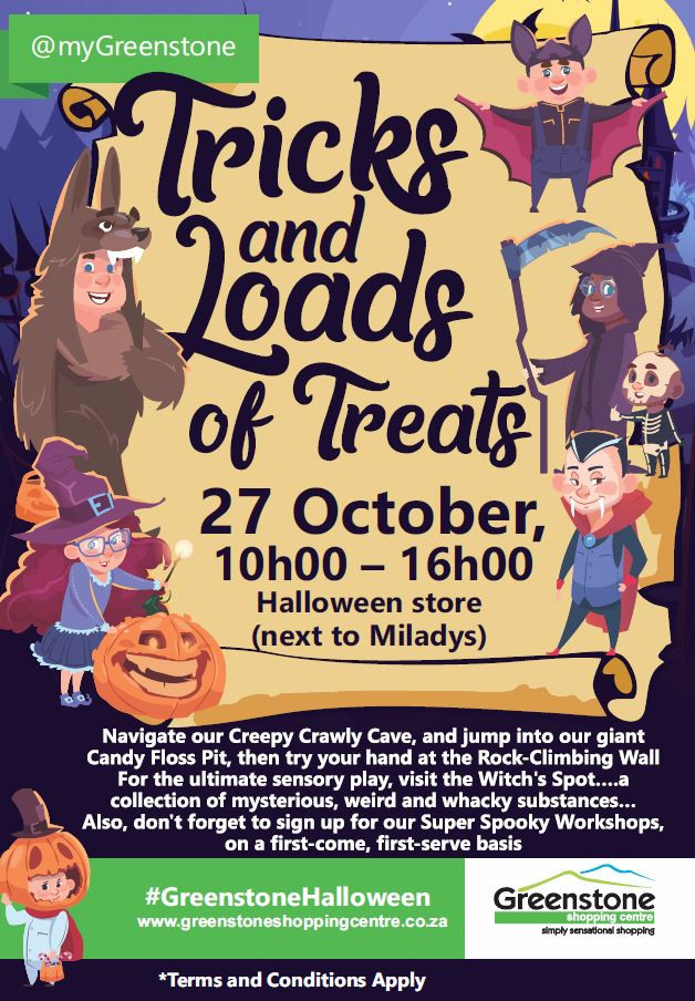 Tricks and Loads of Treats
