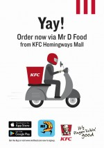 Hemingways Mall Shop Promotion