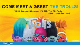 MEET THE TROLLS AT TOYS R US PAVILION