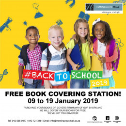 Free Book Covering Station