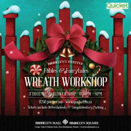 Brooklyn's Festive Wreath Workshop