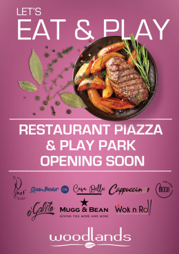 Let's Eat & Play: revamped Restaurant Piazza launching soon