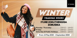 Winter Trading Hours