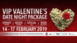 VIP Valentine's Date Night Package