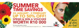 Summertime Savings with Northmead Square!