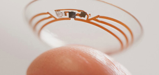 Google Patents Contact Lenses That Contain Microcameras