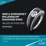 Win A Shimansky Millennium Diamond Ring
