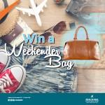 Win a weekender bag