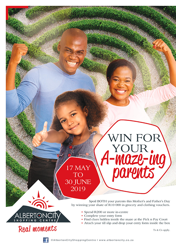 Win for your A-maze-ing parents