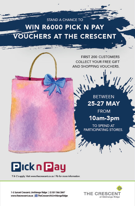 Win Shopping Vouchers @ The Crescent