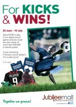 For Kicks & Wins!