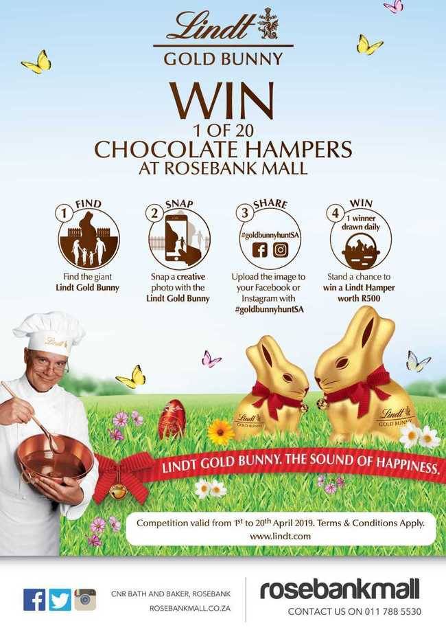 Win 1 of 20 Chocolate Hampers
