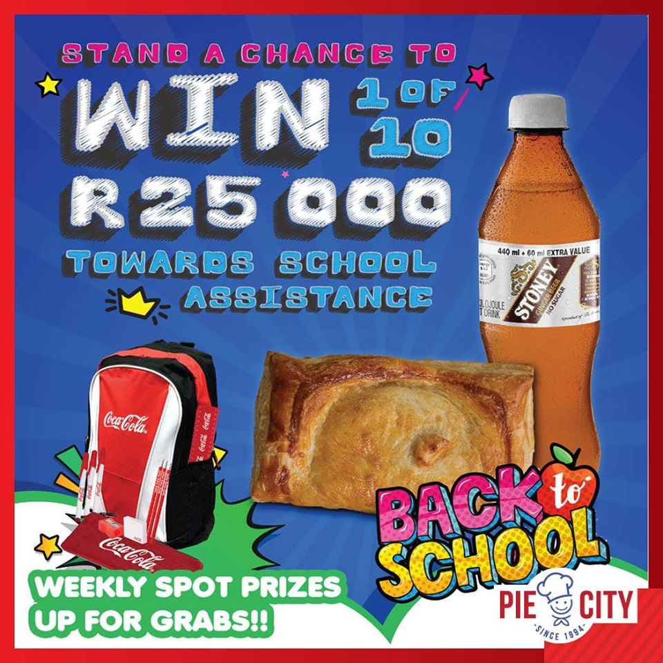 WIN 1 of 10 x R25,000 prizes!