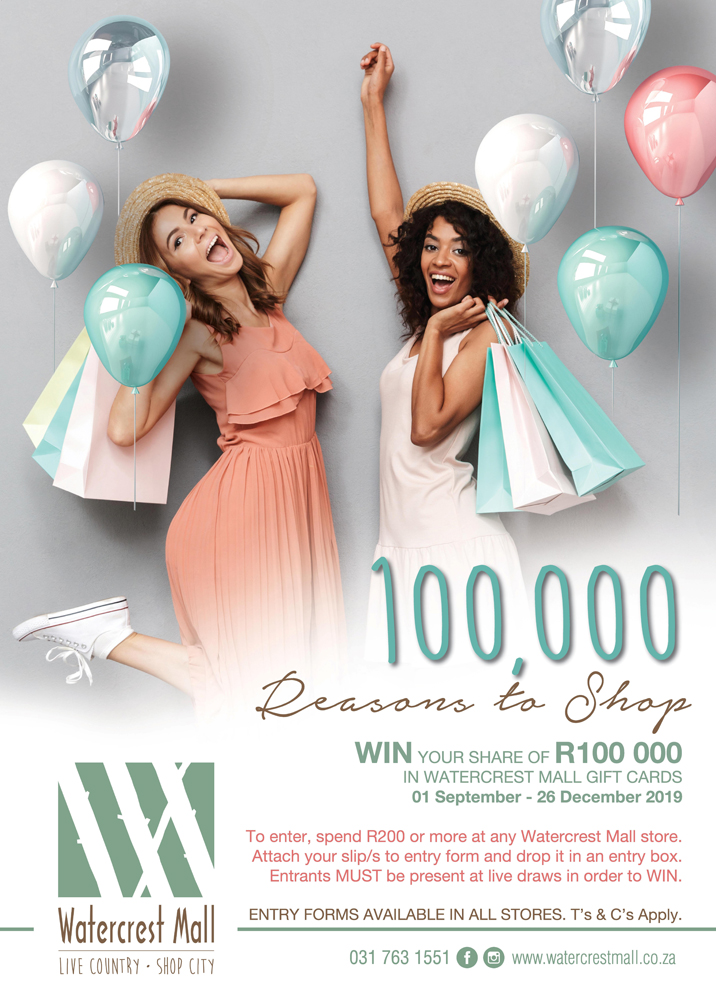 100 000 Reasons to Shop