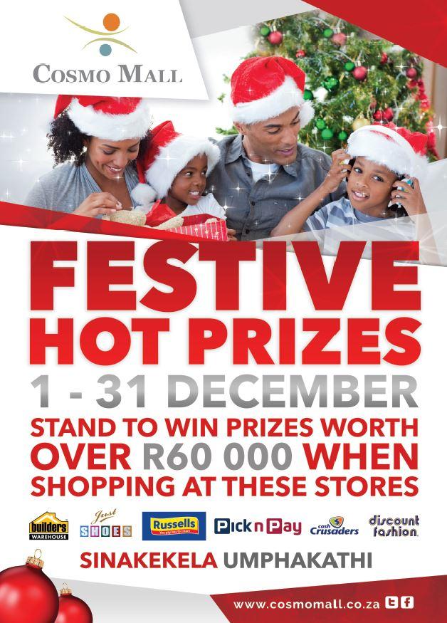 Festive Hot Prizes