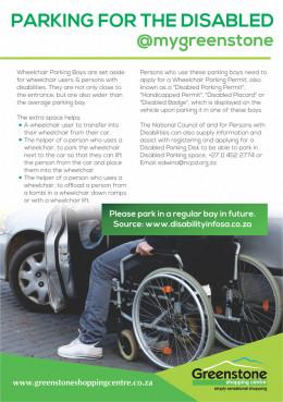 Designated Parking Bays