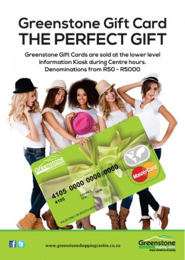 Greenstone Gift Card - The Perfect Gift