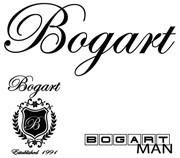 Bogart Man Logo
