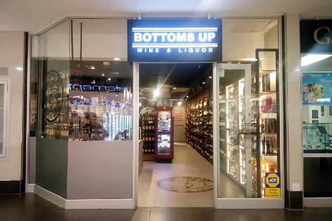 Bottoms Up Wine and Liquor Kolonnade