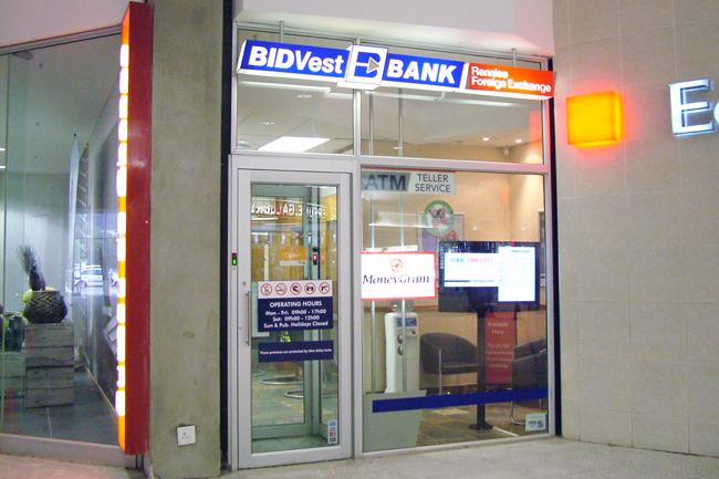 Bidvest Bank Rennies Foreign Exchange