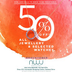 NWJ Fine Jewellery promotion