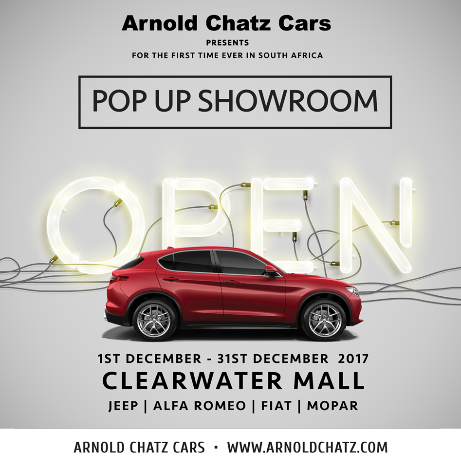 Arnold Chatz Pop Up shop