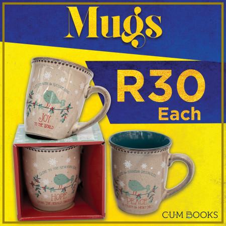 CUM Books   Christmas Mugs @R30