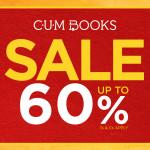 CUM Books promotion