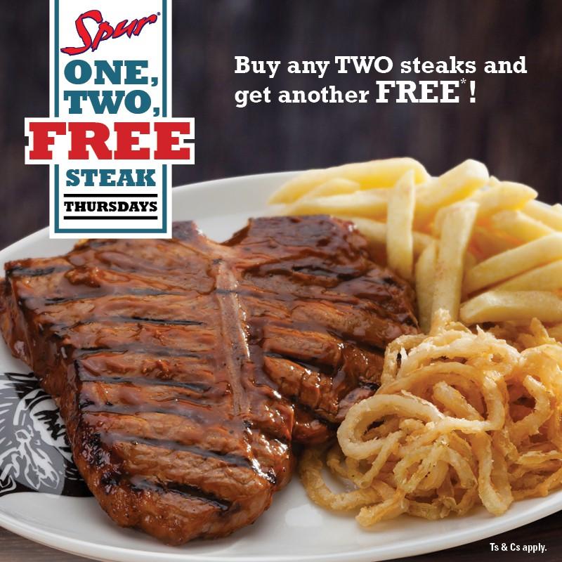 Free Steak Thursdays!