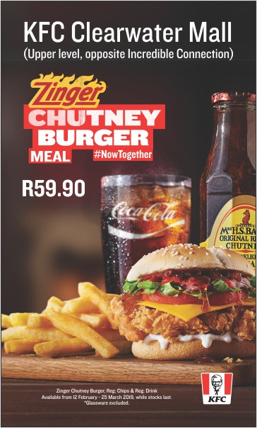 Zinger Chutney Burger