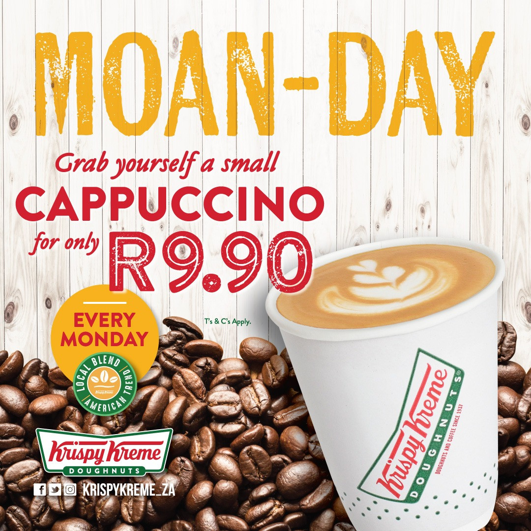 Moan-day promotion