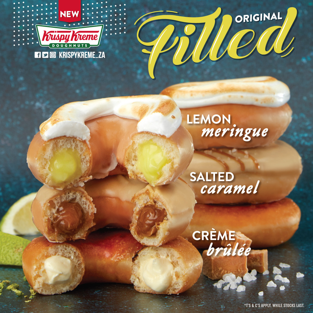 Filled Ring Doughnuts