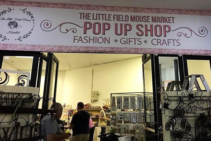 The Little Field Mouse Market Pop up Shop