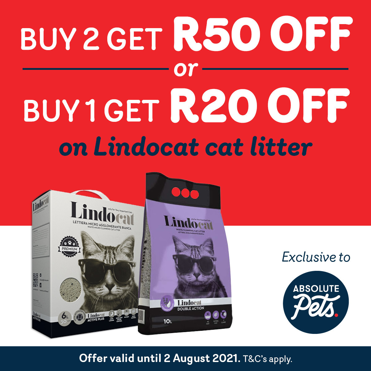 Absolute Pets Lindocat Promotion