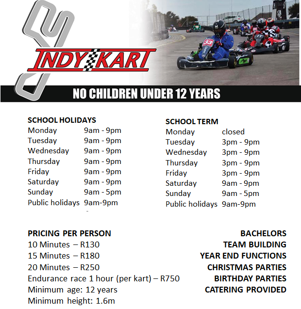 Indy Kart Indoor Go Karting