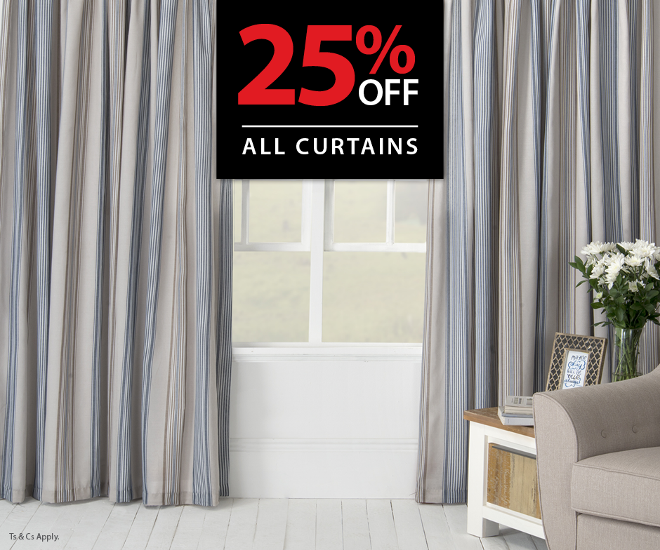 Volpes 25% Curtain Discount