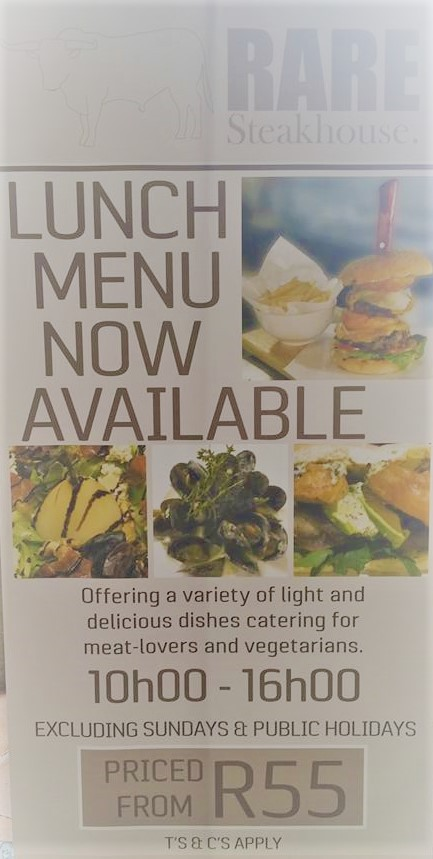 Now serving lunch too!