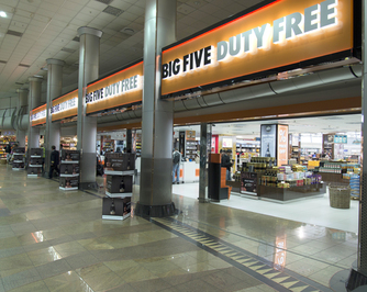 Big Five Duty Free Arrival Shop 1