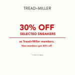 Tread + Miller promotion