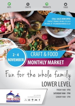 Craft & Food Monthly Market