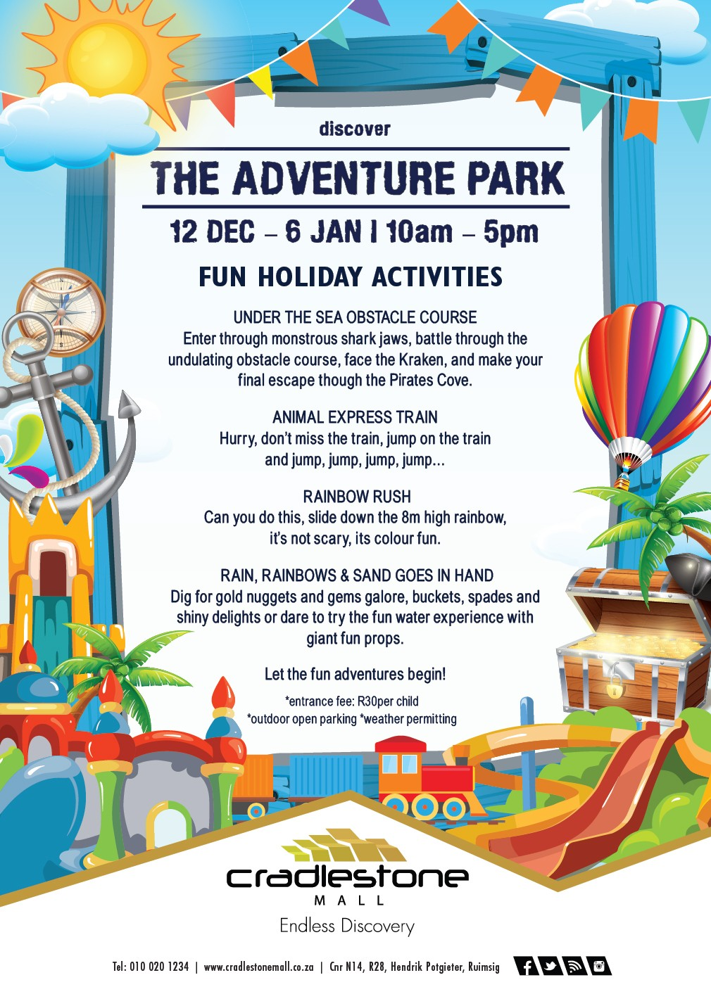 The Adventure Park Kids Holiday