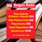 Bargain Books promotion