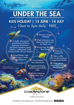 Under the Sea l Kids Holiday l 15 June - 14 July l FREE