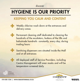 Hygiene Is Our Priority