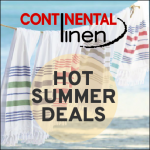 Continental Linen promotion
