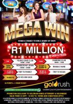 Goldrush Bingo, Slot and Entertainment promotion