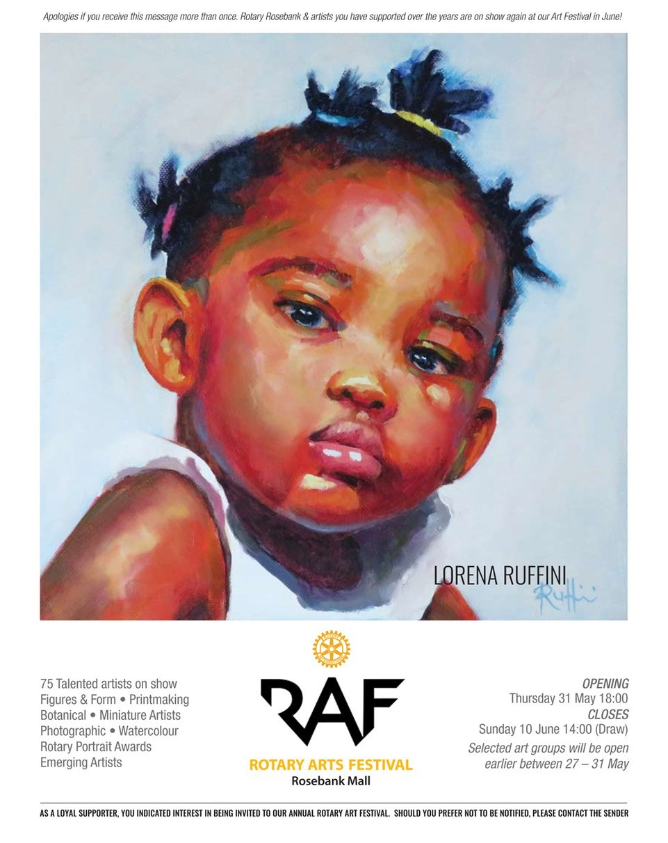 The Rotary Arts Festival takes pride of place on the Rosebank Art Mile