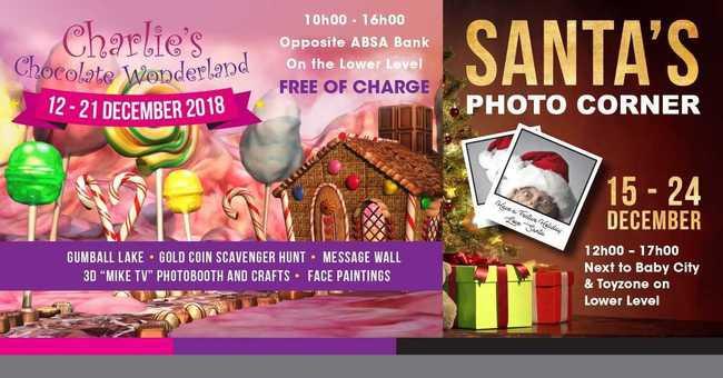 Charlies Chocolate Wonderland & Santa's Corner