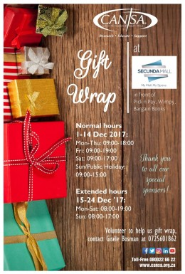 CANSA Gift Wrap