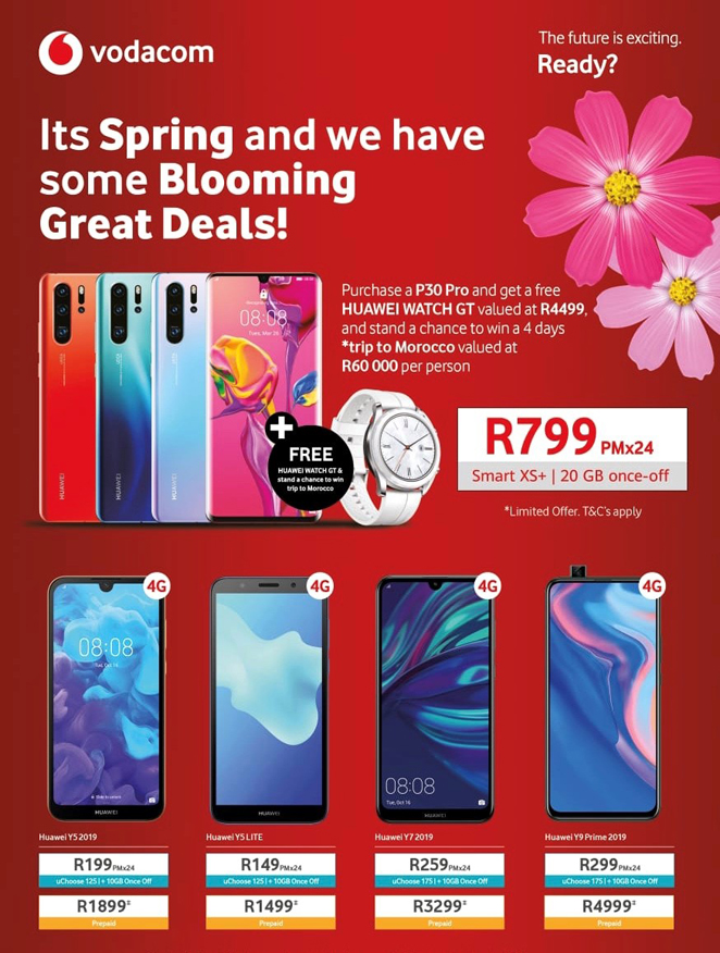 It's Spring we have some blooming great deals!